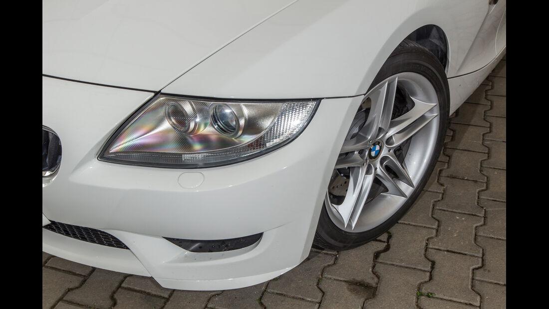 BMW Z4 M Coupé, Frontscheinwerfer