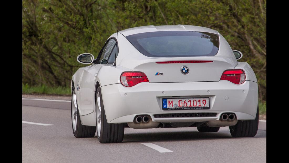 BMW Z4 M Coupé, Heckansicht