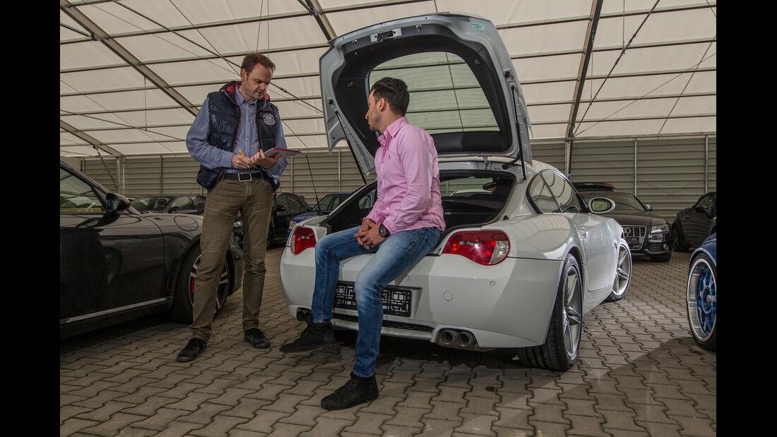 BMW Z4 M Coupé, Heckklappe
