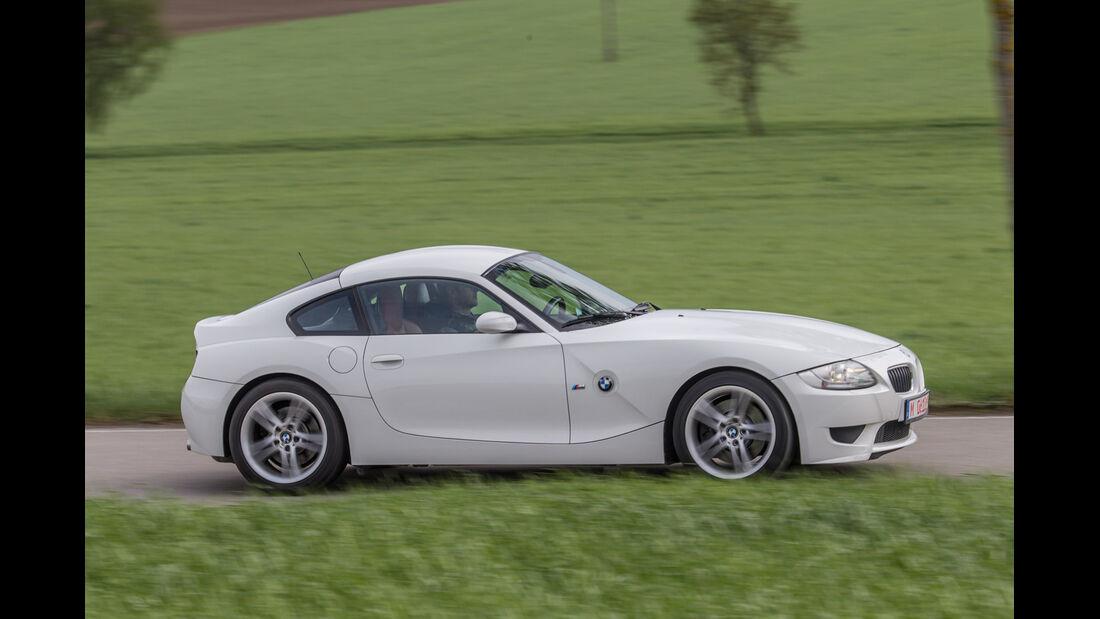 BMW Z4 M Coupé, Seitenansicht