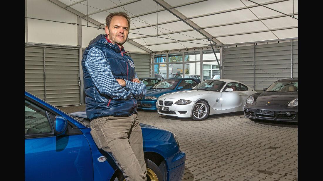BMW Z4 M Coupé, Verkaufsraum