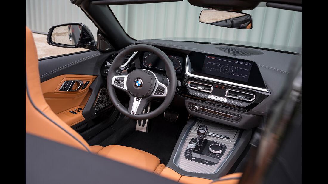 BMW Z4 M40i, Interieur