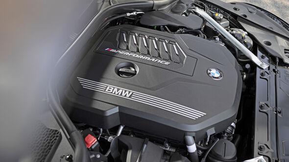 BMW Z4 M40i, Motorraum
