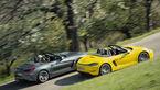 BMW Z4 M40i, Porsche 718 Boxster S, Exterieur