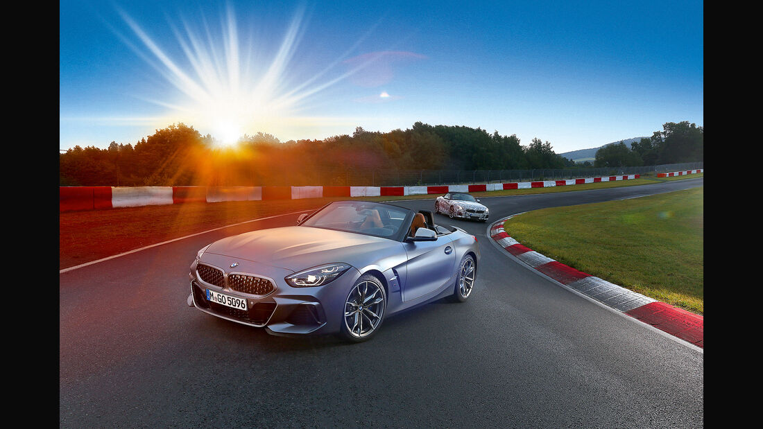 BMW Z4 M40i, Supertest, Exterieur