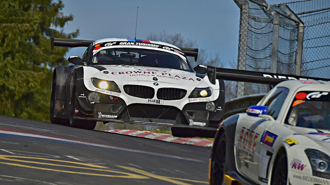 BMW Z4 - Schubert - VLN 1 - Nürburgring Nordschleife - 29. März 2014