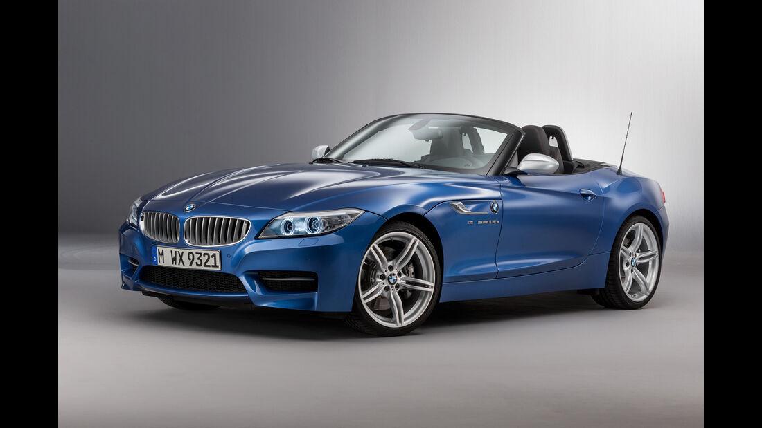 BMW Z4 in Estorilblau metallic Front
