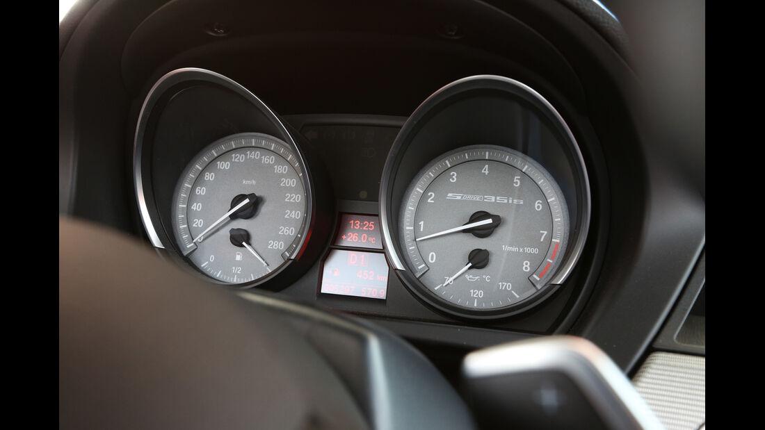 BMW Z4 s-Drive 35i, Rundinstrumente