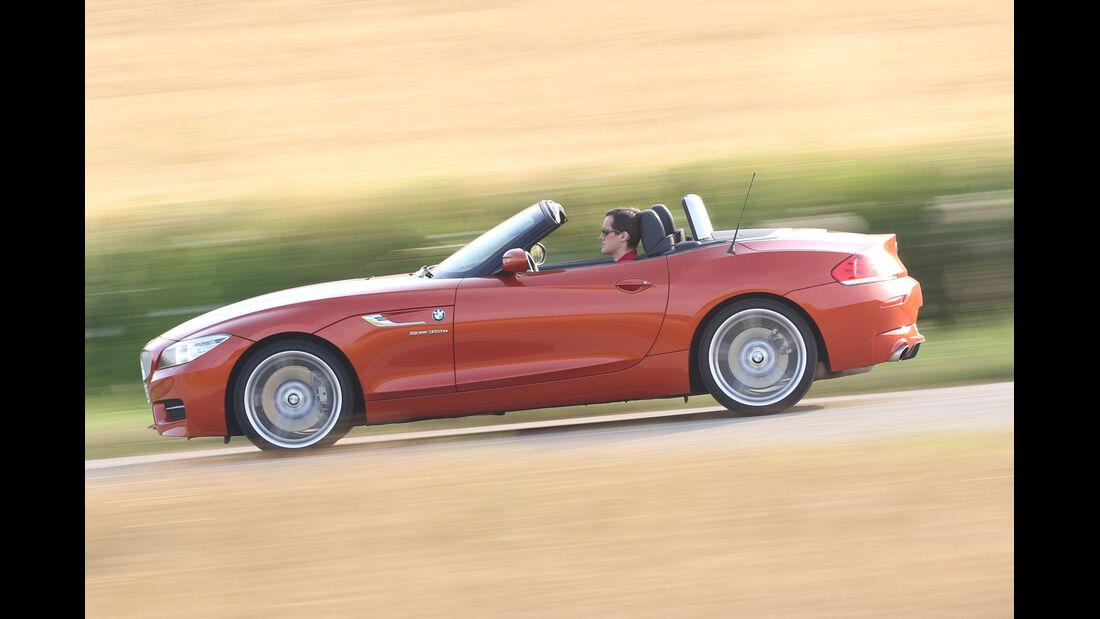 BMW Z4 s-Drive 35i, Seitenansicht