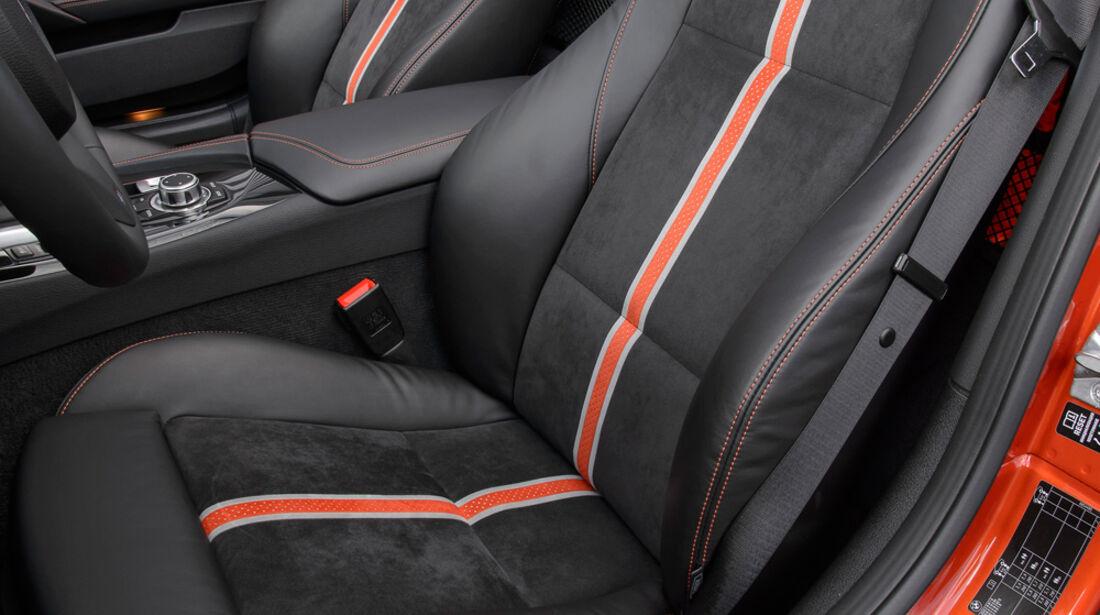 BMW Z4 s-Drive 35is, Fahrersitz