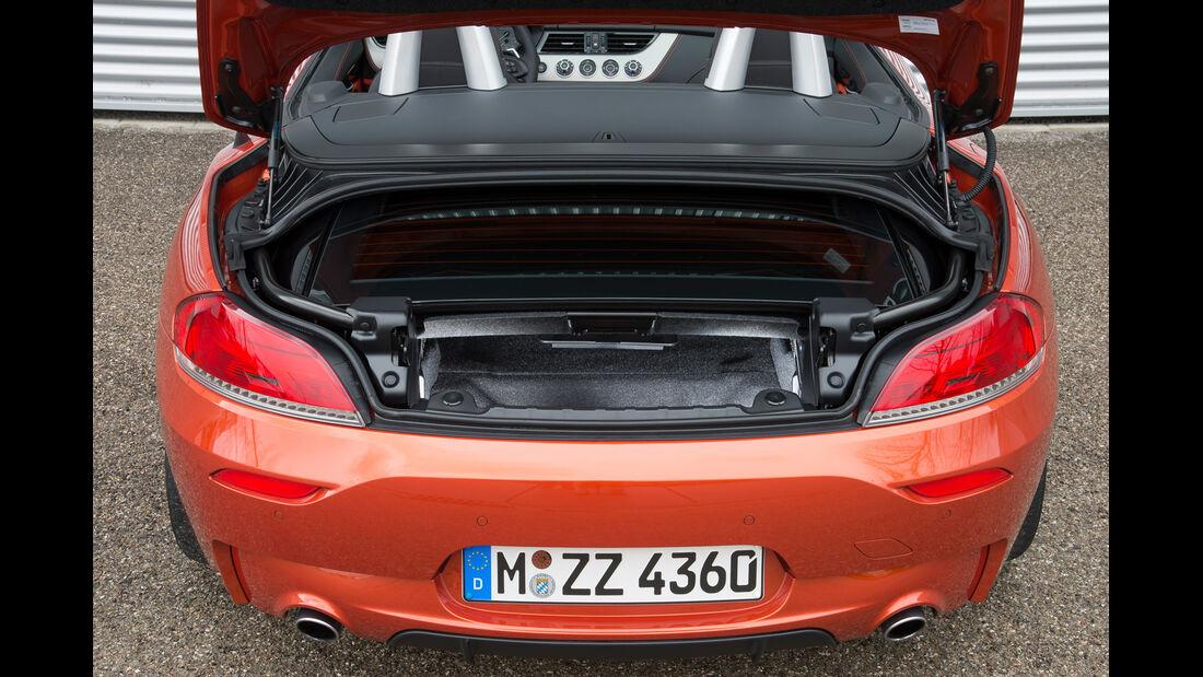 BMW Z4 s-Drive 35is, Kofferraum