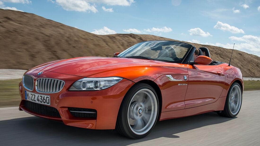 BMW Z4 s-Drive 35is, Seitenansicht