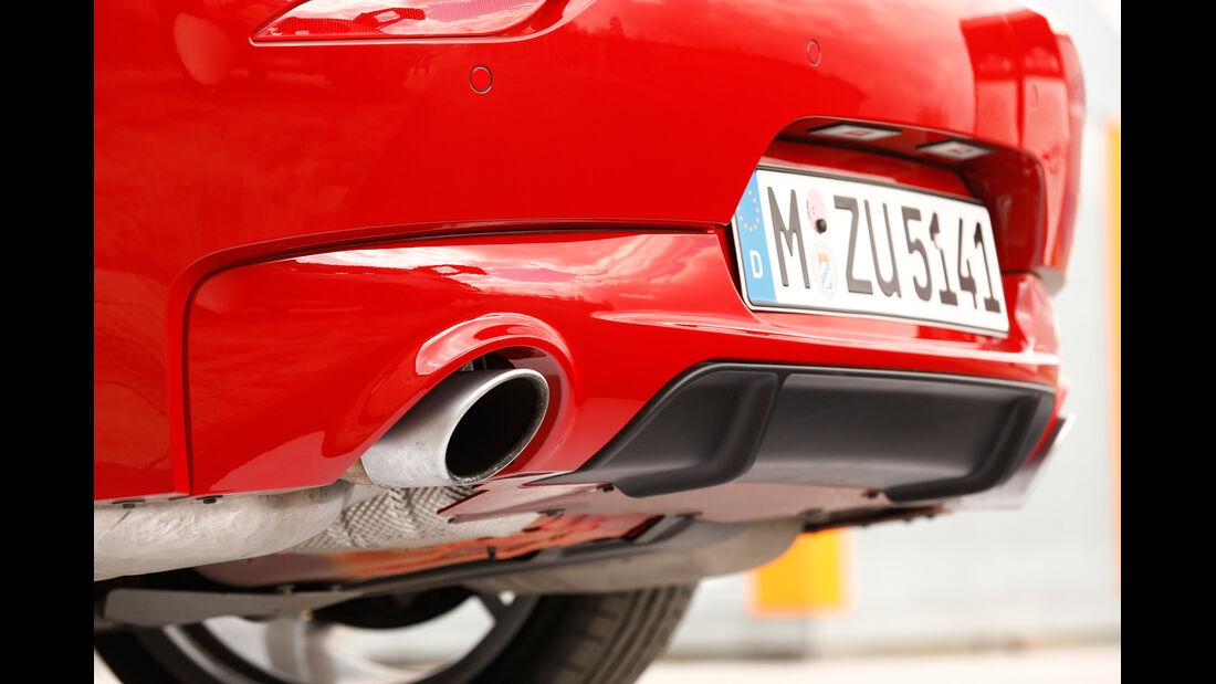 BMW Z4 sDRIVE 35is, Auspuff, Endrohre