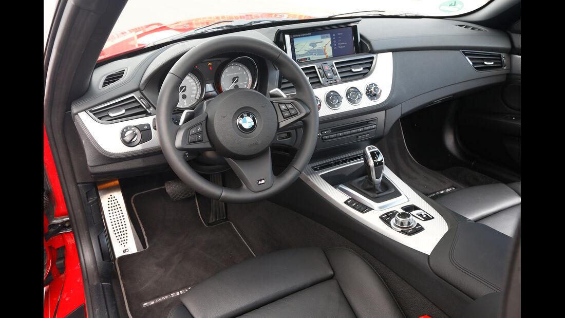 BMW Z4 sDRIVE 35is, Cockpit