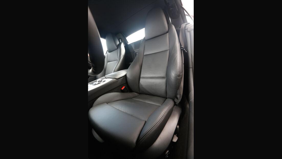 BMW Z4 sDRIVE 35is, Fahrersitz