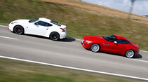 BMW Z4 sDRIVE 35is, Nissan 370Z Nismo, Seitenansicht
