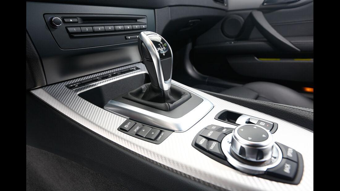 BMW Z4 sDRIVE 35is, Schalthebel