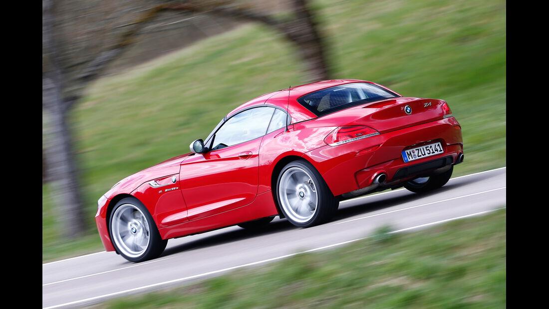 BMW Z4 sDRIVE 35is, Seitenansicht