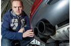 BMW Z4 sDrive 30i, Auspuff