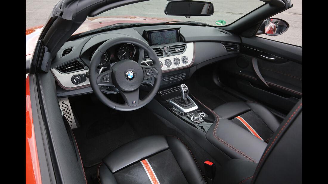 BMW Z4 sDrive 35i, Cockpit