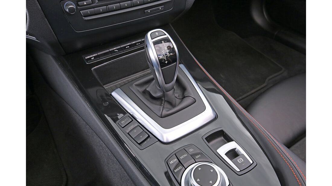 BMW Z4 sDrive 35i, Schaltung