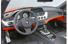 BMW Z4 sDrive 35is, Cockpit, Lenkrad