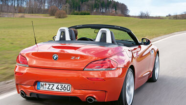 BMW Z4 sDrive 35is, Heckansicht