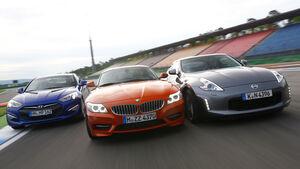 BMW Z4 sDrive 35is, Hyundai Genesis Coupé, Nissan 370Z