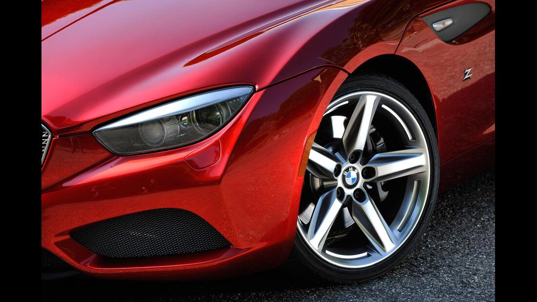 BMW Zagato Coupé, Felge, Rad, Frontscheinwerfer
