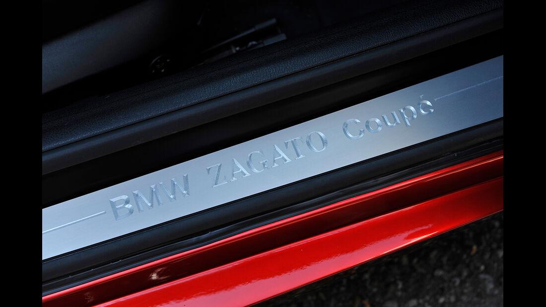 BMW Zagato Coupé, Fußleiste