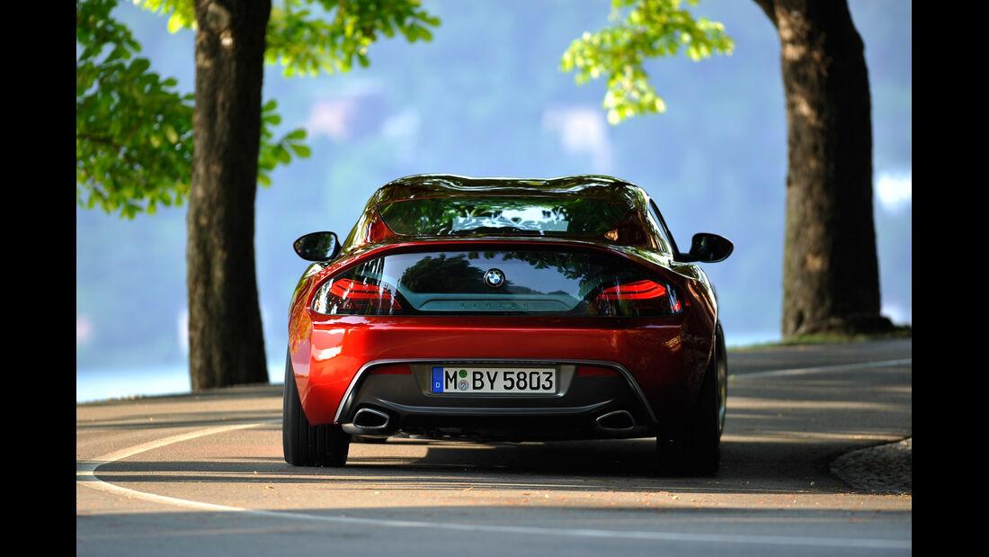 BMW Zagato Coupé, Heck