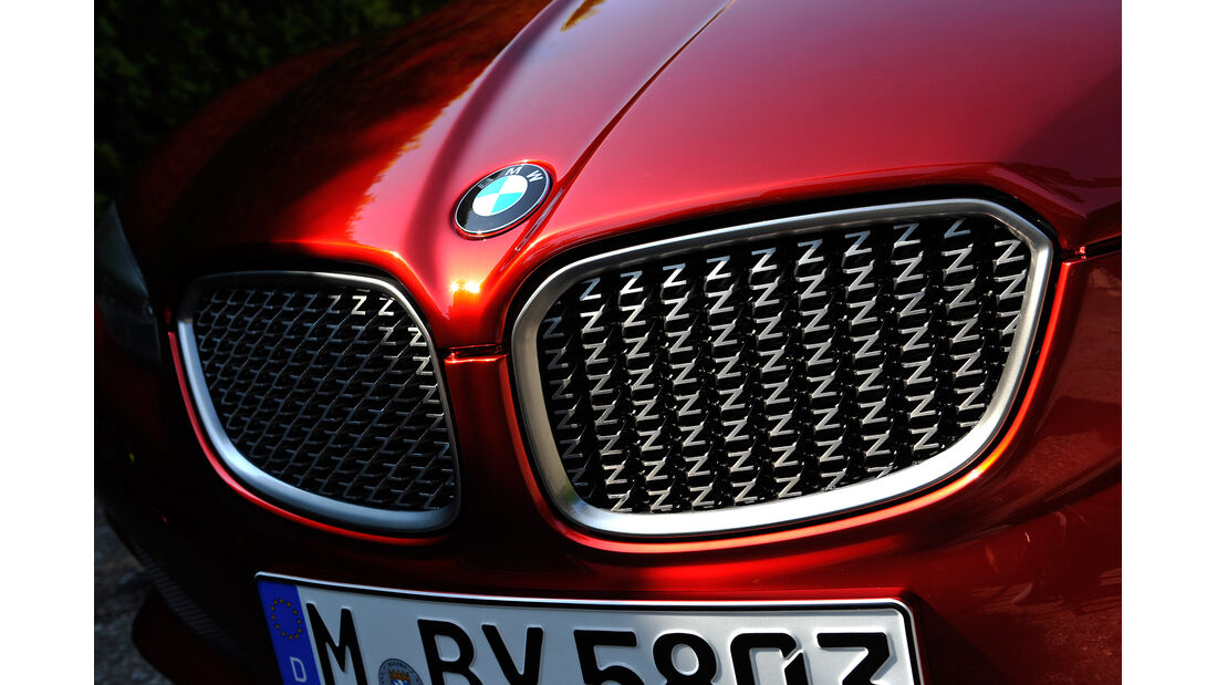 BMW Zagato Coupé, Kühlergrill