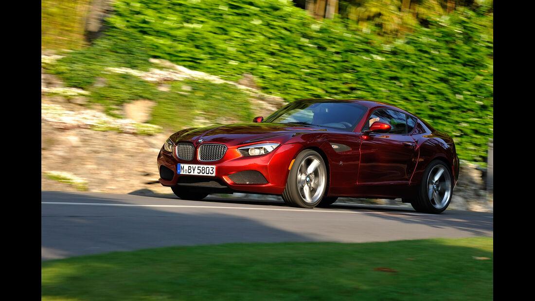 BMW Zagato Coupé, Seitenansicht