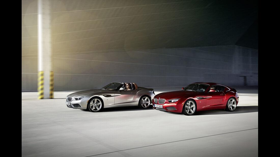 BMW Zagato Roadster, BMW Zagato Coupé