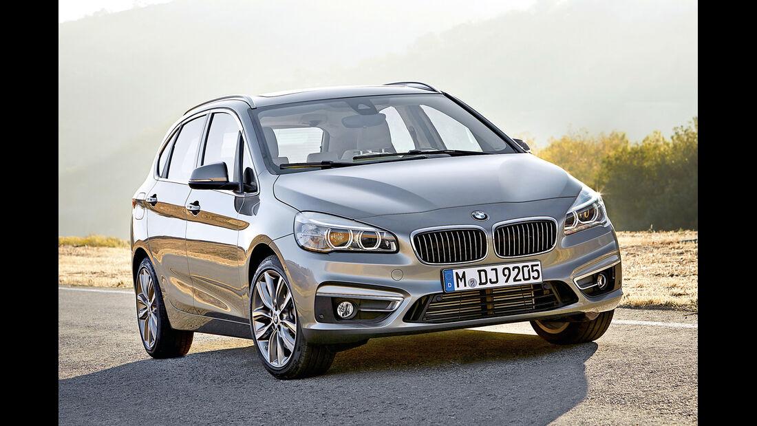 BMW Zweier Active Tourer , Frontansicht