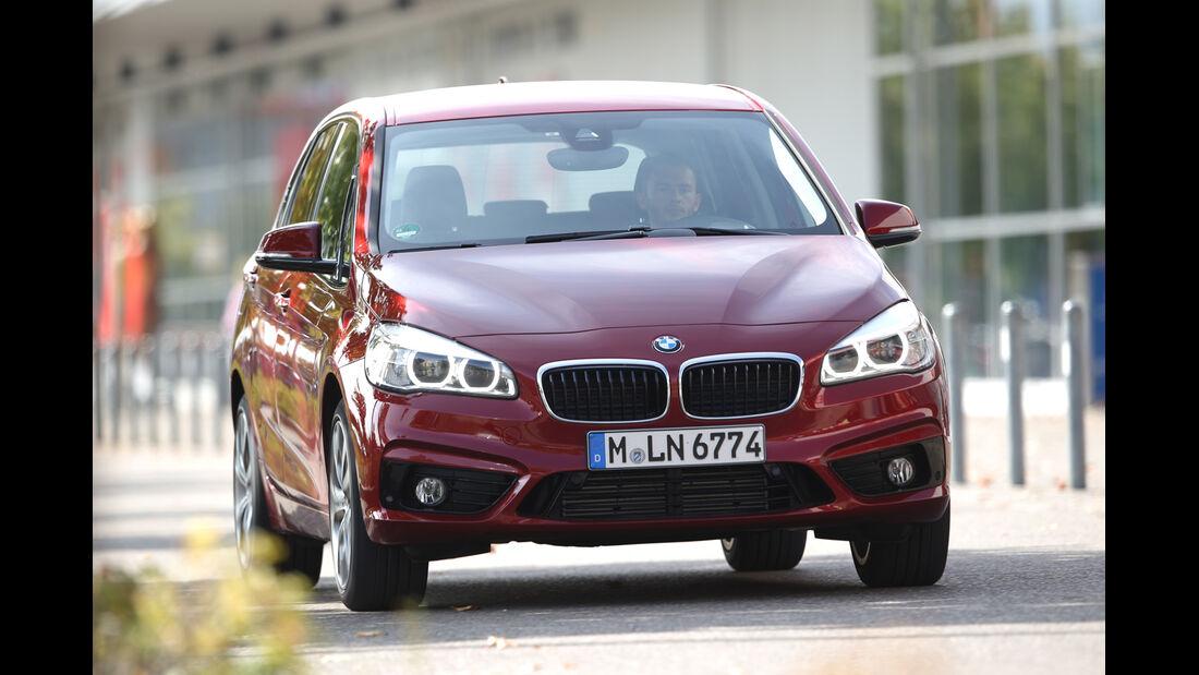 BMW Zweier Active Tourer, Frontansicht