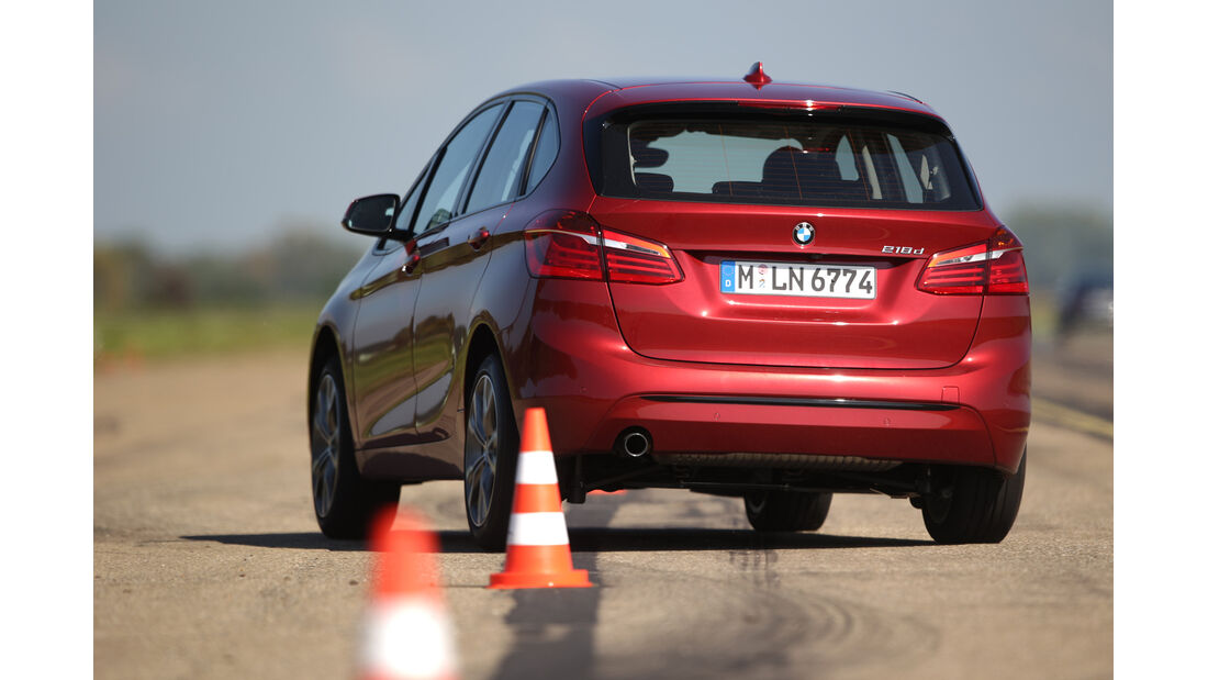 BMW Zweier Active Tourer, Heckansicht