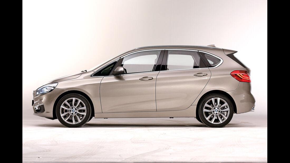 BMW Zweier Active Tourer, Seitenansicht