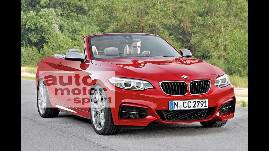 BMW Zweier Cabrio, Frontansicht