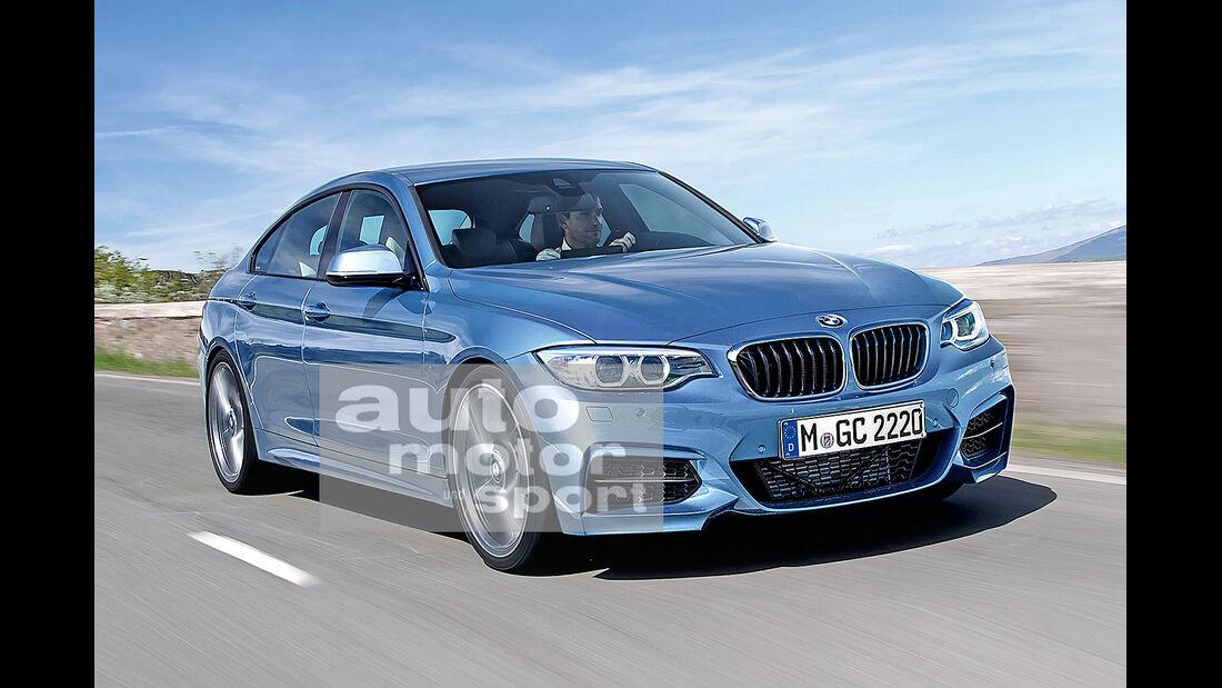 BMW Zweier Gran Coupe, Frontansicht