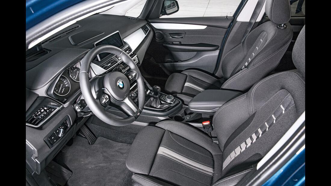 BMW Zweier Gran Tourer, Fahrersitz