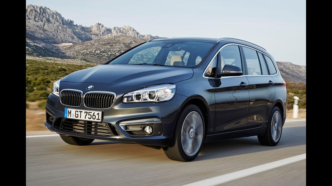 BMW Zweier Gran Tourer, Frontansicht
