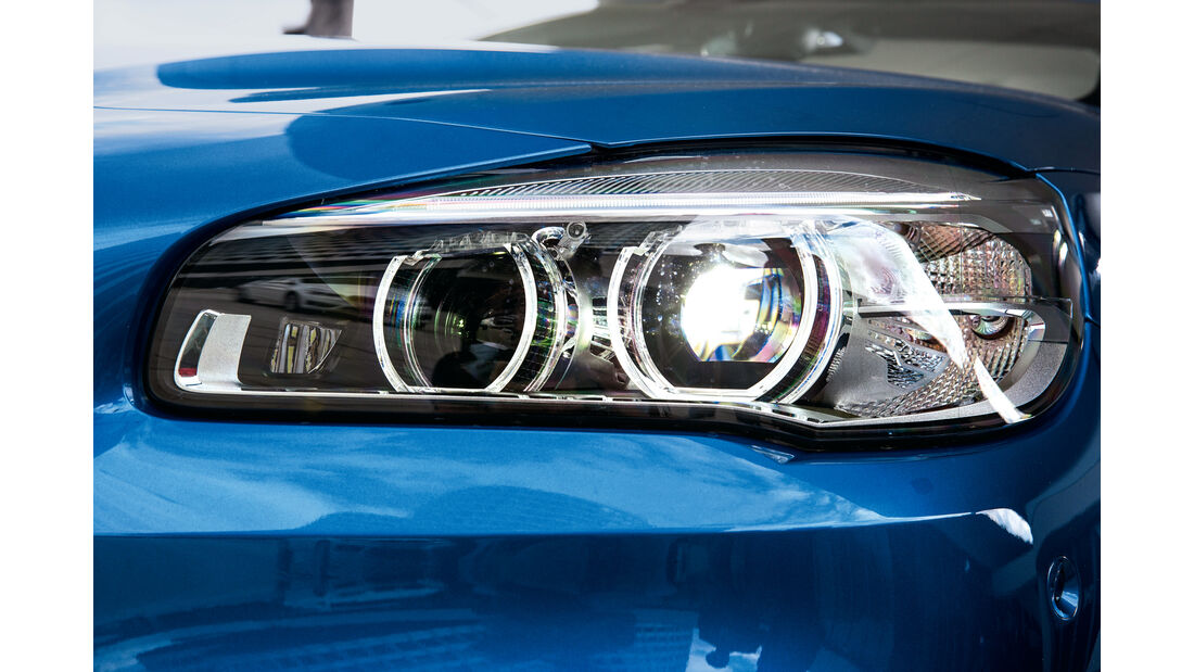 BMW Zweier Gran Tourer, Frontscheinwerfer