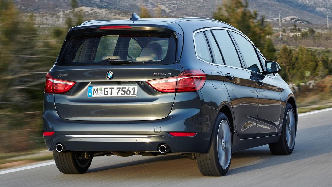 BMW Zweier Gran Tourer, Heckansicht