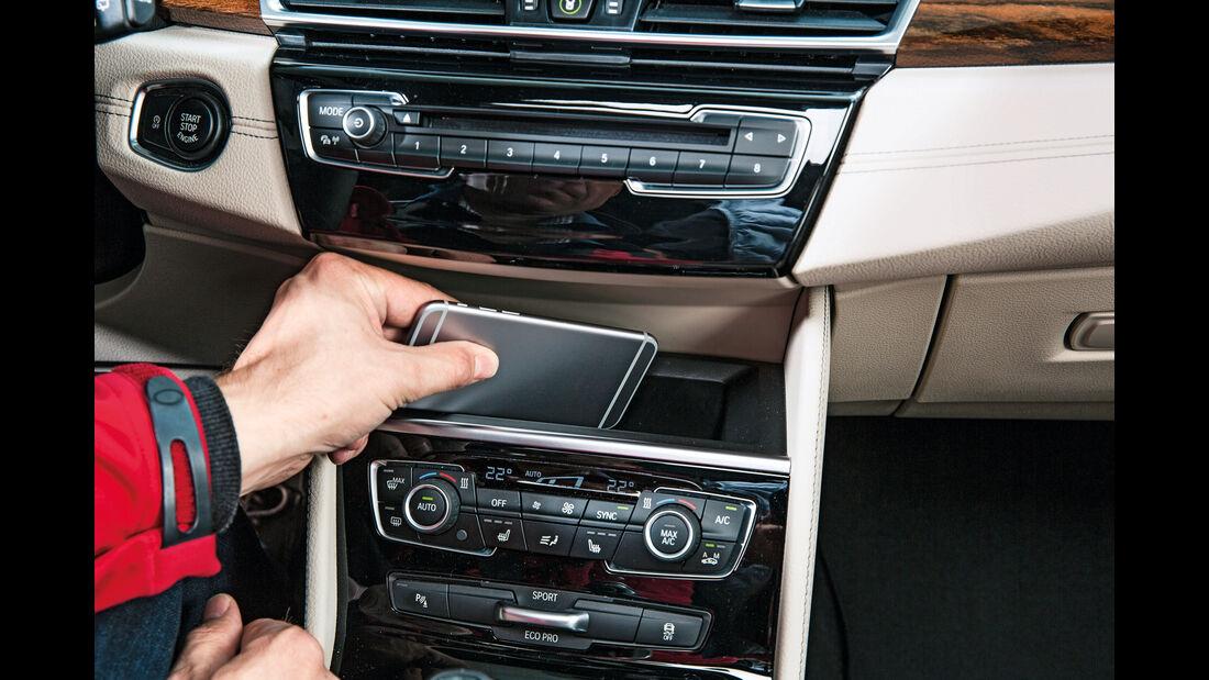 BMW Zweier Gran Tourer, Mittelkonsole