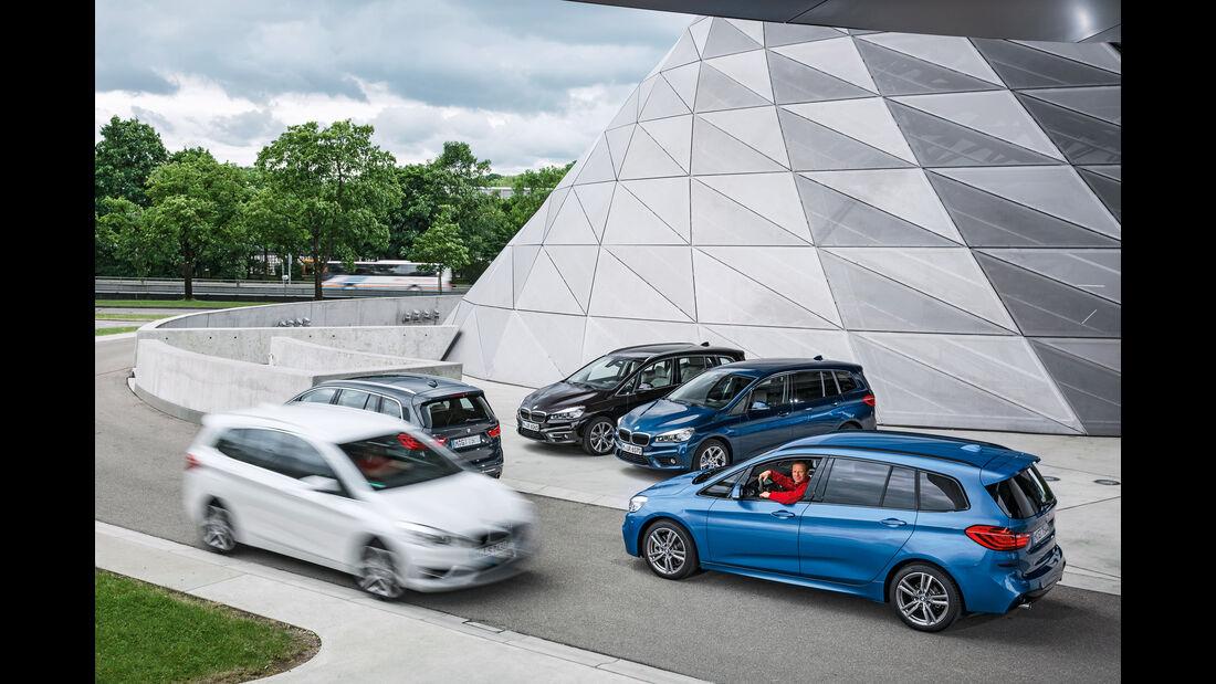 BMW Zweier Gran Tourer, Modelle