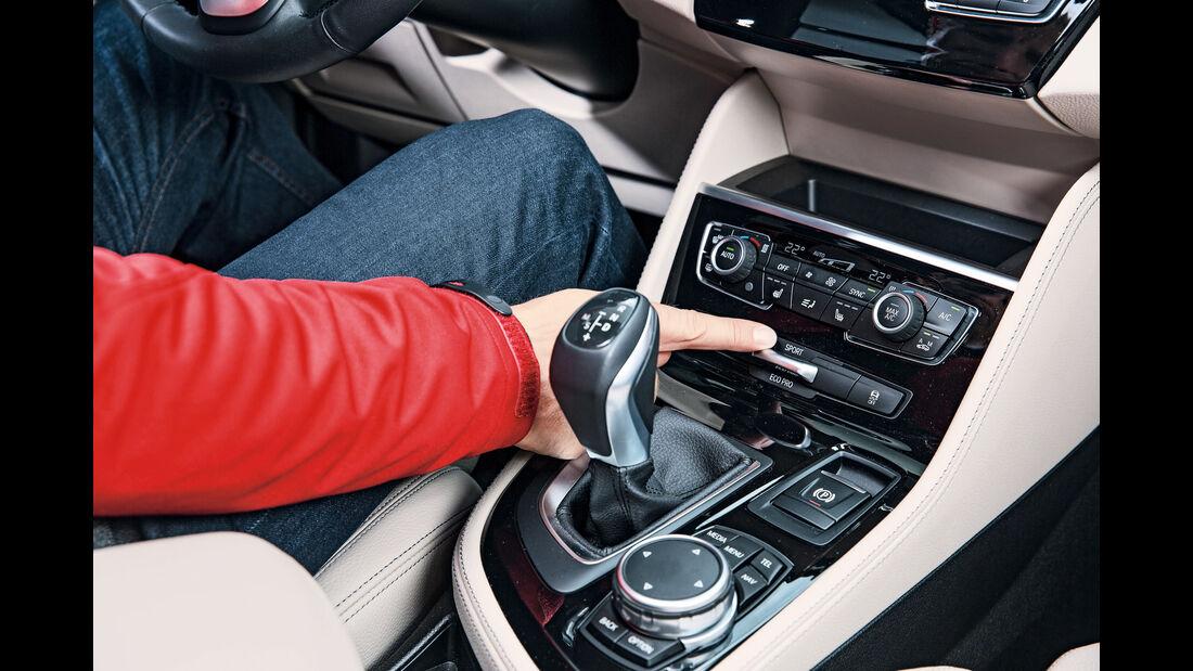 BMW Zweier Gran Tourer, Schaltung