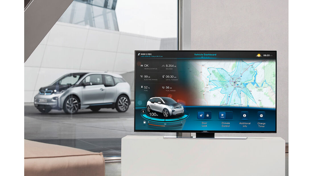 BMW i Connected Mobility
