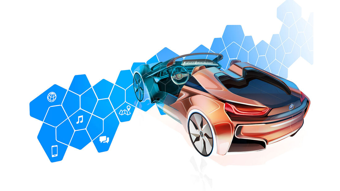 BMW i Vision Future Interaction CES 2016 Sperrfrist 6.1.2016