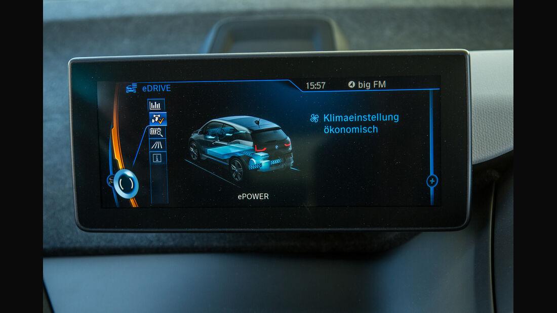 BMW i3, Anzeige, Display